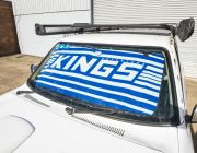 Adventure Kings Sunshade | Vehicle Sun Protection | Security | Universal Fit