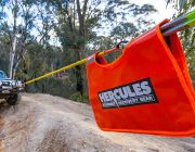 Hercules Winch Dampener | Essential Safety Item | Works w/Cable & Synthetic Winch Ropes
