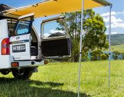 Kings 1.4 x 2m Rear Awning | Waterproof | UPF50+ | Inc. Mounting Kit