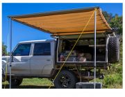 2x3m Waterproof Side Awning - incl Mounting Kit | Suits all vehicles | Adventure Kings