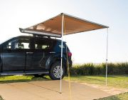 2 x 2.5m 2 in 1 Awning + LED Strip Light - UPF50+ | Waterproof | Suits All Vehicles | Adventure Kings