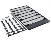 Steel Flat Rack For Gutter Mount Vehicles | incl mounting kit | Powder coated