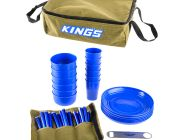 Adventure Kings 37 Piece Six-Person Picnic Set