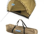 Kings Big Daddy Deluxe Double Swag + Polyester Swag Bag