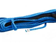 Hercules Synthetic Winch Rope - 9mm x 28m   12,000lb   Easy to Splice   Floats in Water