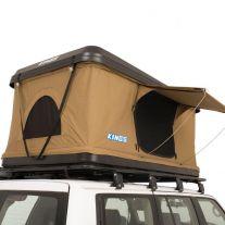 Kwiky Hard Shell Rooftop Tent | 2min Setup | 100% Waterproof | 50mm Mattress | Adventure Kings