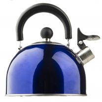 Adventure Kings Camping Kettle   Whistling Design   2 Litres   Stainless Steel