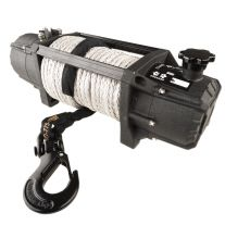 Kings Domin8r Xtreme 12,000lb Winch   7.2hp Motor   218:1 Ratio   26m Synthetic Rope   Wired/Wireless Controller