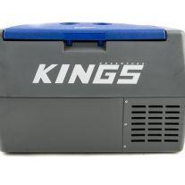 Kings 45L Portable 12v Fridge & Freezer   SECOP Compressor   68 Can Capacity