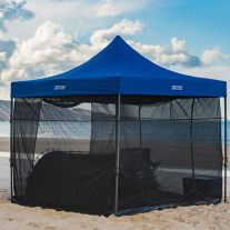 Kings 3x3m Gazebo Mosquito Net | Mozzie & Midgee Proof | Fits Most 3x3m Gazebos