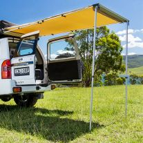 Kings 1.4 x 2m Rear Awning | Waterproof | UPF50+
