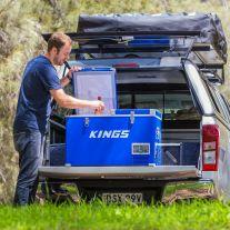 Adventure Kings 70L Camping Fridge/Freezer