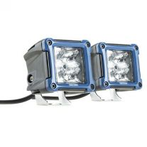 Kings 3in Work Lights (Pair) fitted with OSRAM LEDs | 1 Lux @ 146m (Pair) | 2180 Lumens (Pair) | Super-Efficient - DNU