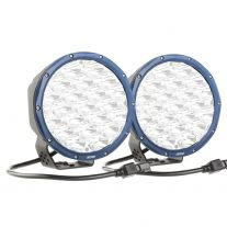 "Kings Domin8r X 7"" Spotlights (Pair) fitted with OSRAM LEDs 