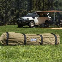 Kings Roof Top 400GSM Ripstop Canvas Bag | Heavy-duty zips & handles | Storage