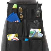Kings Car Seat Organiser   Universal Fit   Multiple Pockets   Adventure Kings