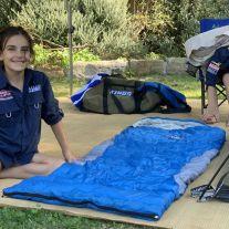 Kings -2°C Kids' Sleeping Bag | Supa Warm | Hard-Wearing | Lightweight & Breathable