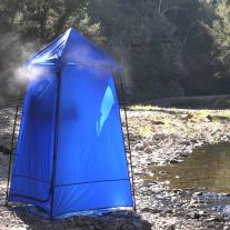 Kings Camping Shower Tent | Freestanding Design | Inc. Protective Base & Carry Bag