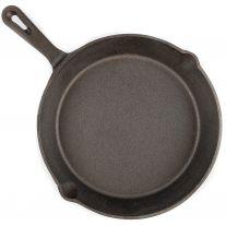 Adventure Kings Skillet Pan | 26cm Diameter | Cast Iron