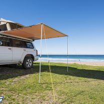 Kings 2 x 2.5m Kings Side Vehicle/Camping Awning | UPF 50+ | Waterproof - DNU