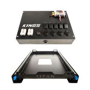 Adventure Kings 12V Control Box + Titan 60L Fridge Slide