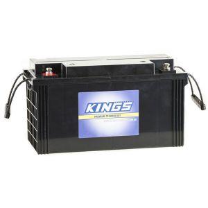 138Ah AGM Deep-Cycle Battery   5x Faster Recharging   Sealed   Maintenance-Free   Adventure Kings