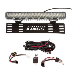 """15"""" Numberplate LED Light Bar + Wiring Harness"""
