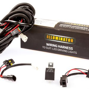 Kings Spotlight Wiring Harness | Easy DIY Install | Waterproof plugs