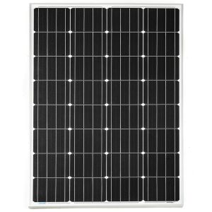 Kings 160w Fixed Solar Panel | 8.79A Output | Grade A cells | Tempered Glass | Vehicle mountable