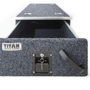 Titan Single Drawer 900mm - Lockable, DIY Steel Frame | Heavy Duty