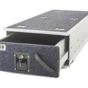 Titan Single Ute Drawer 1300mm – Lockable, DIY Steel Frame | Heavy Duty