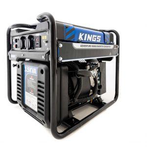 Kings 3.5kVA Generator | 3500W Peak Pure Sine-Wave Power | Remote Power & Home Backup