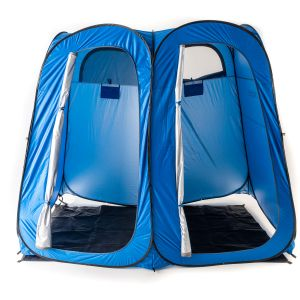 Kings Double Shower Tent | Quick Setup | Twin Rooms | Lightweight & Sturdy Camping Ensuite