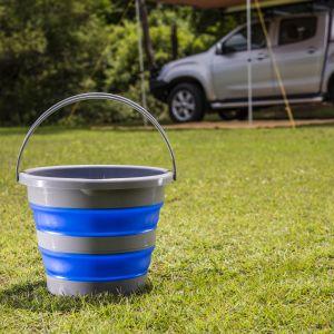 Kings Collapsible 10L Bucket | Compact | Durable | Versatile | Long Lasting