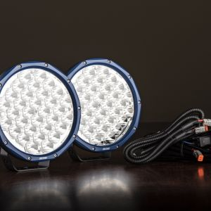 """Pair of 9"""" OSRAM LED Domin8rX Driving Lights 