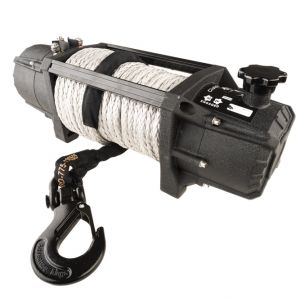 Kings Domin8r Xtreme 12,000lb Winch | 7.2hp Motor | 218:1 Ratio | 26m Synthetic Rope | Wired/Wireless Controller