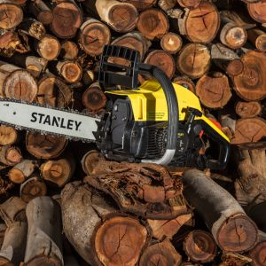 """Stanley 37cc Camping Chainsaw 