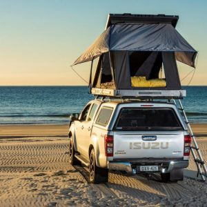 Grand Tourer Aluminium Rooftop Tent | 2min Setup | 75mm mattress | 2yr Wty