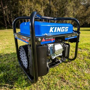 Kings 2kVA Generator | 2000W Pure Sine-Wave Power | Portable | 4-Stroke | 119cc