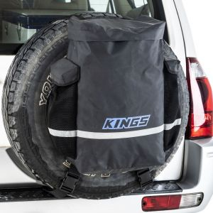 Kings Premium 48L Dirty Gear Bag | 400GSM PVC | 2 Side Pockets | Heavy Duty Finish