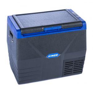 Kings 35L Fridge / Freezer | 12V & 240V | Fits 51 Cans | For Home, Car & Camping