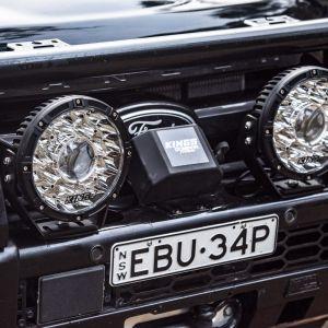 "Kings 8.5"" Laser MKII Driving Lights (pair)   1 Lux @ 1972m   11,870 Lumens   IP68 Rated"