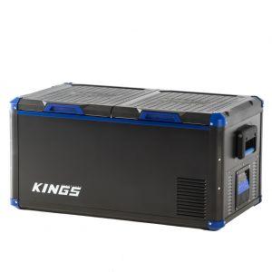 Kings 90L Stayzcool Portable Dual-Zone Fridge/Freezer | 12v/240v | -18c to +10c | SECOP Compressor