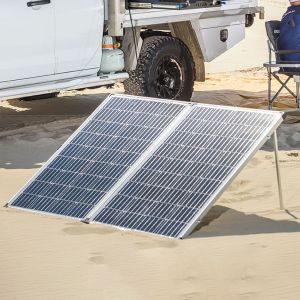 250W Portable Solar Panel incl regulator - Camp-Ready Bush Power | Adventure Kings - DNU