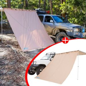 2x Adventure Kings Awning Side Wall