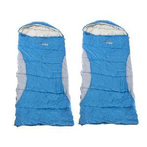 2x Kings -2°C Kids' Sleeping Bag | Supa Warm | Hard-Wearing | Lightweight & Breathable