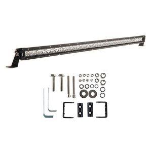 """Kings 40"""" LETHAL MKIII Slim Line LED Light Bar + Sliding Brackets for Slim Line Light Bars (Pair)"""