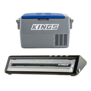 Adventure Kings 45L Camping Fridge + Vacuum Sealer