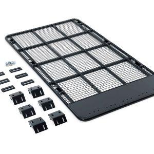 Kings Steel Flat Roof Rack | Suitable for 120 Series Prado | Inc. Mounts | Powdercoated Finish