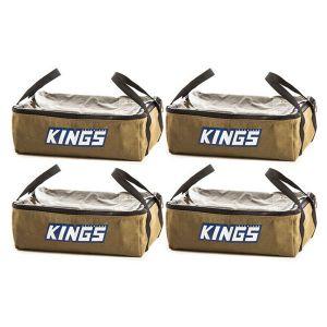 4 x Adventure Kings Clear Top Canvas Bag